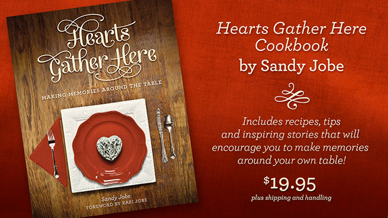 Heart's Gather Here Recipe Book
